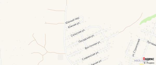 Сельская улица на карте Трубчевска с номерами домов