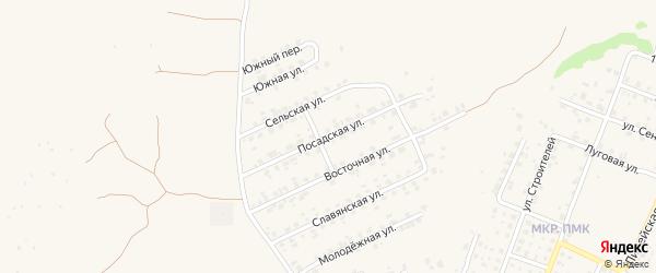 Посадская улица на карте Трубчевска с номерами домов