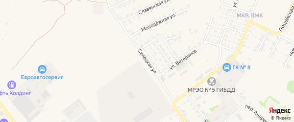 Селецкая улица на карте Трубчевска с номерами домов
