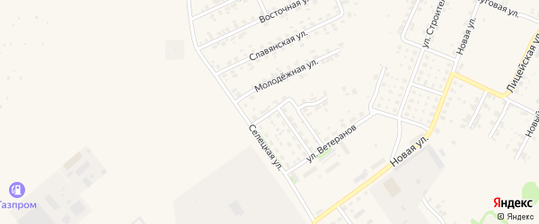 Селецкий переулок на карте Трубчевска с номерами домов