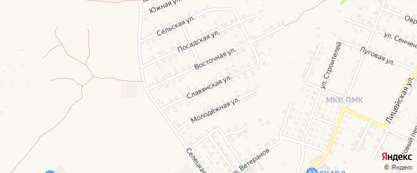 Славянская улица на карте Трубчевска с номерами домов