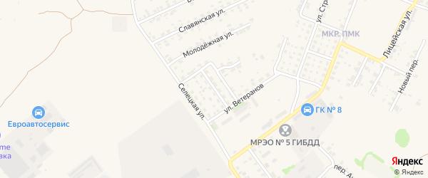 Мелиоративная улица на карте Трубчевска с номерами домов