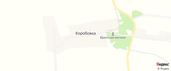 Полевая улица на карте деревни Коробовки с номерами домов