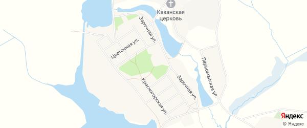 Карта села Новоселки в Брянской области с улицами и номерами домов