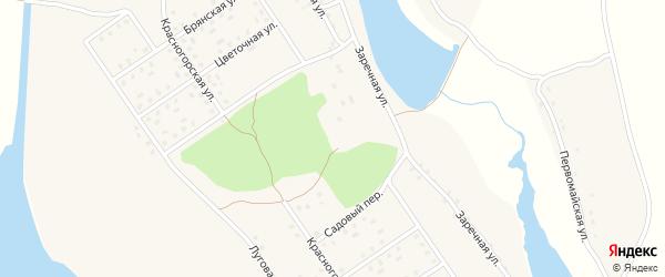 Территория ГО по ул Резцова на карте села Новоселки с номерами домов