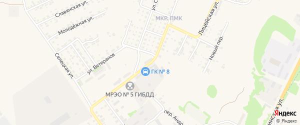 Новая улица на карте Трубчевска с номерами домов