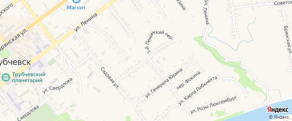 Улица Куйбышева на карте Трубчевска с номерами домов