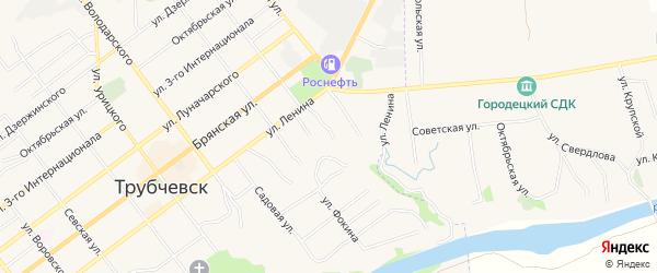 Территория Гаражный массив N17 на карте улицы Ров Степана Разина с номерами домов