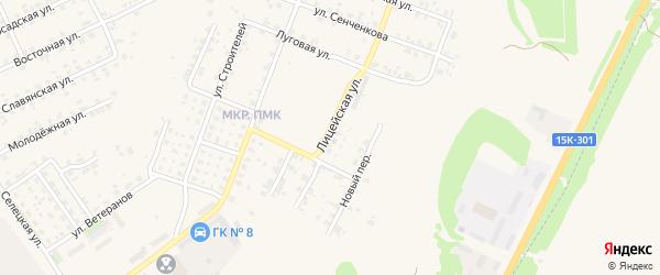 Лицейская улица на карте Трубчевска с номерами домов