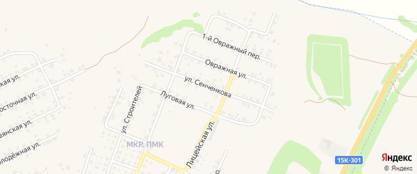 Улица Имени Сенченкова на карте Трубчевска с номерами домов