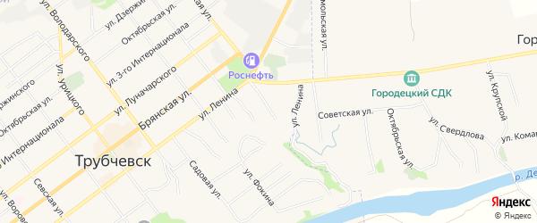 Территория Гаражный массив N15 на карте Советской улицы с номерами домов