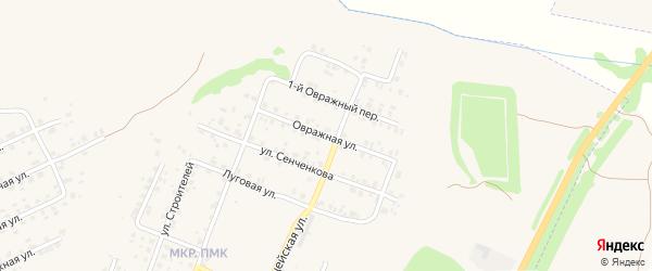 Овражная улица на карте Трубчевска с номерами домов