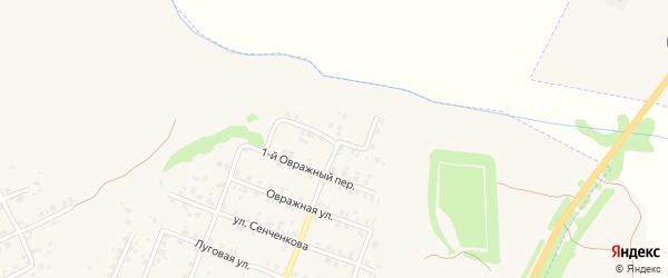 2-й Овражный переулок на карте Трубчевска с номерами домов