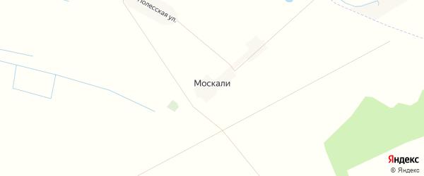 Карта поселка Москали в Брянской области с улицами и номерами домов