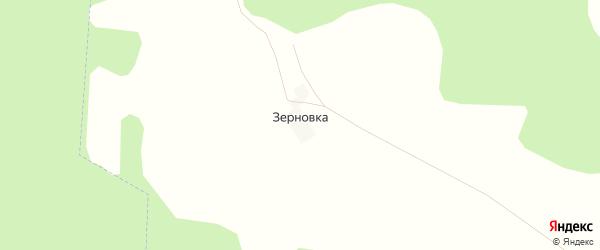 Карта деревни Зерновки в Брянской области с улицами и номерами домов