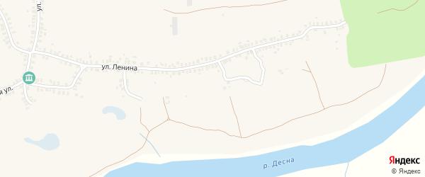 Заречная улица на карте деревни Городцы с номерами домов