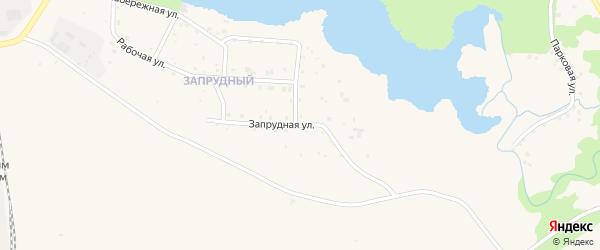 Запрудная улица на карте Бокситогорска с номерами домов