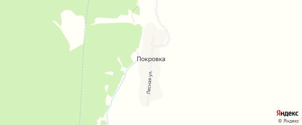 Карта поселка Покровки в Брянской области с улицами и номерами домов