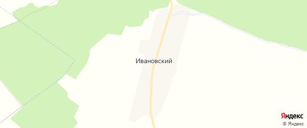 Карта Ивановского поселка в Брянской области с улицами и номерами домов