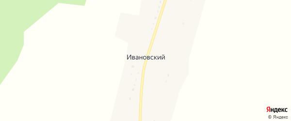Лесная улица на карте Ивановского поселка с номерами домов