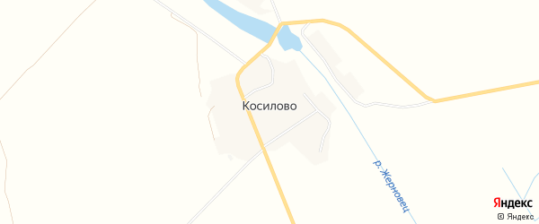 Карта деревни Косилово в Брянской области с улицами и номерами домов