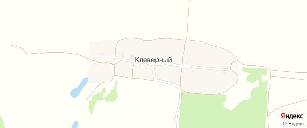 Западная улица на карте Клеверного поселка с номерами домов