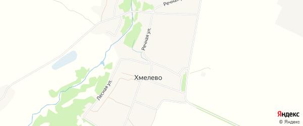 Карта деревни Хмелево в Брянской области с улицами и номерами домов