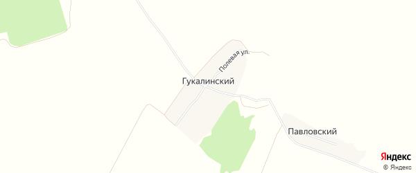 Карта Гукалинского поселка в Брянской области с улицами и номерами домов