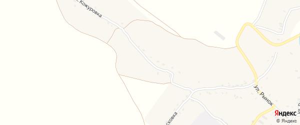 Улица Кожуровка на карте Красного села с номерами домов