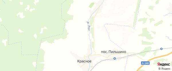 Карта территории Красносельского сельского поселения Брянской области с районами, улицами и номерами домов