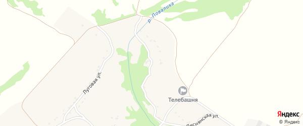 Деснянская улица на карте села Речицы с номерами домов