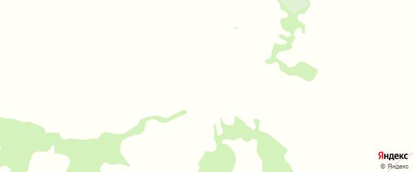 Нагорная улица на карте деревни Прудки с номерами домов
