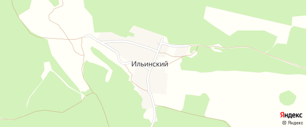 Дальняя улица на карте Ильинского поселка с номерами домов