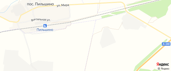 СТ Надежда на карте территории Лопушского сельского поселения с номерами домов