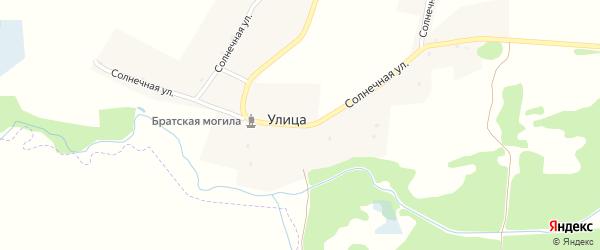 Солнечная улица на карте деревни Улицы с номерами домов