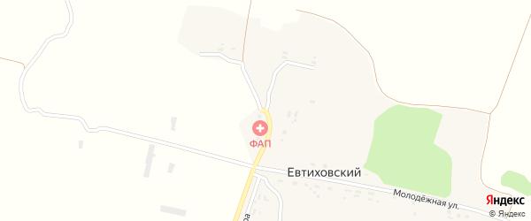 Соловьиная улица на карте Евтиховского поселка с номерами домов