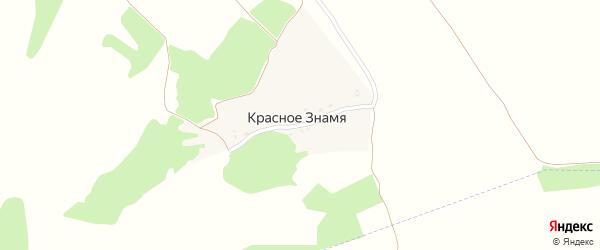 Лесная улица на карте поселка Красного Знамени с номерами домов