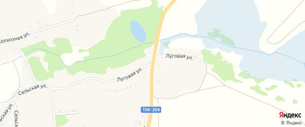 Луговая улица на карте села Госомы с номерами домов