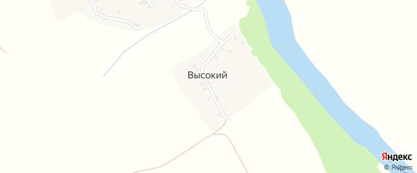 Высокая улица на карте Высокого поселка с номерами домов