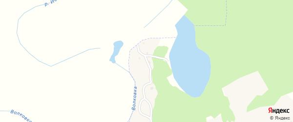 Заводская улица на карте поселка Кукуевки с номерами домов