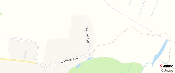 Луговая улица на карте села Сосновки с номерами домов