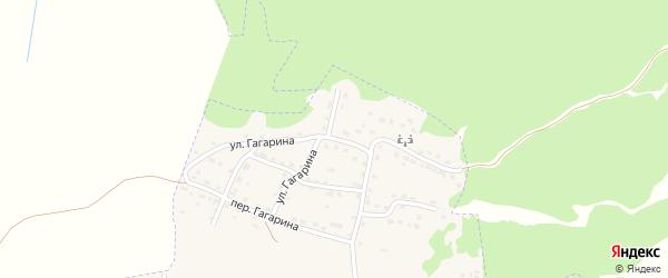 Улица Гагарина на карте Сельца с номерами домов