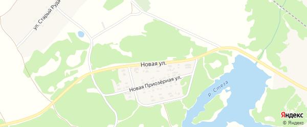 Новая улица на карте поселка Суземки с номерами домов