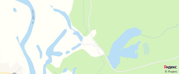Карта поселка Халькино в Брянской области с улицами и номерами домов
