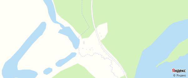 Озерная улица на карте поселка Халькино с номерами домов