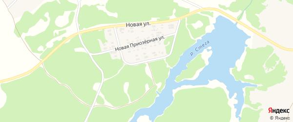 Новая Парковая улица на карте поселка Суземки с номерами домов