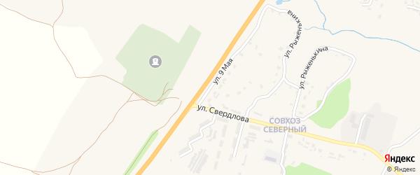 9 Мая улица на карте поселка Выгоничей с номерами домов
