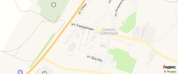 Молодежная улица на карте поселка Выгоничей с номерами домов