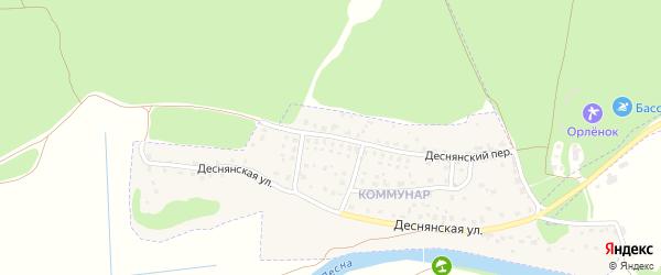 Микрорайон Новостройки на карте Сельца с номерами домов