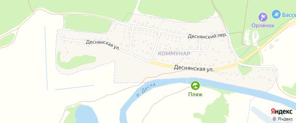 Деснянская улица на карте Сельца с номерами домов
